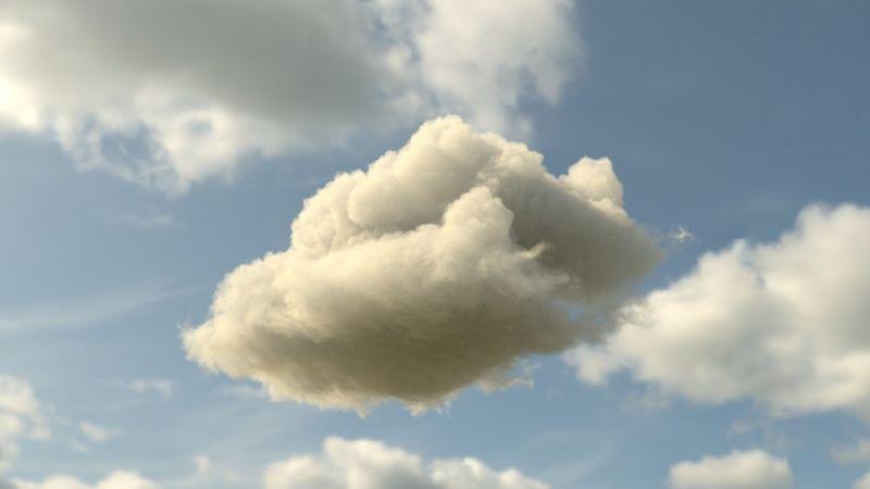 구름(만트라렌더)